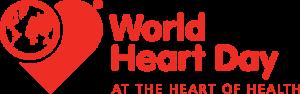 Il logo del World Heart Day, la Giornata mondiale del cuore